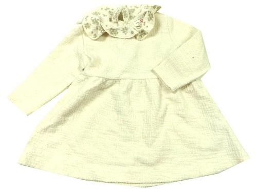 905285f68a Bílé šaty s límečkem zn. Zara